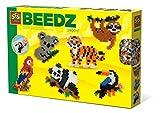 SES Creative- Perles à Repasser-Animaux de la Jungle, 06303