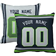 """Easy to order, click """"Customize Now"""" to choose your color and enter a name and number.You'll get one/two custom personalized pillows/pillowcase. Perfect gift for friends or family, and a beautiful gift for Halloween, Christmas, Easter, Thanksgiving,..."""