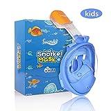 Swonder Snorkel Full Mask XS Baby Blue SWD001