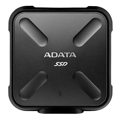 Adata SSD Externe Fonctions Lecture et écriture TypeC SD700 256 Go Noir