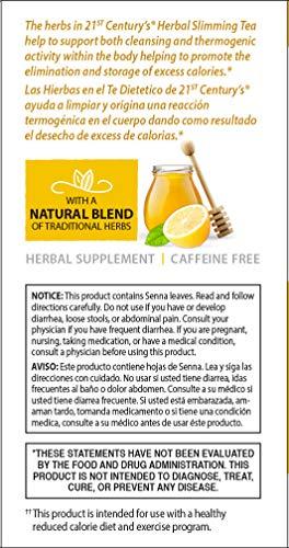 21st Century Slimming Tea, Honey Lemon, 24 count 6