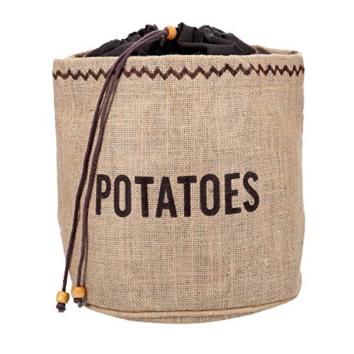 NATURAL ELEMENTS Bolsa con Forro para Conservar Patatas, Tel