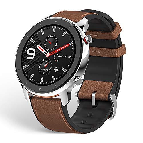 """Huami Amazfit GTR 47mm Reloj Smartwatch Deportivo AMOLED de 1.39"""",GPS + GLONASS,Frecuencia cardíaca Continua de 24 Horas, Larga duración de batería,12 Deportes Diferentes"""