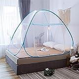 Riohouse Portable de voyage Moustiquaire Entièrement fermé Autonome pliable Moustiquaire Tente Camping...