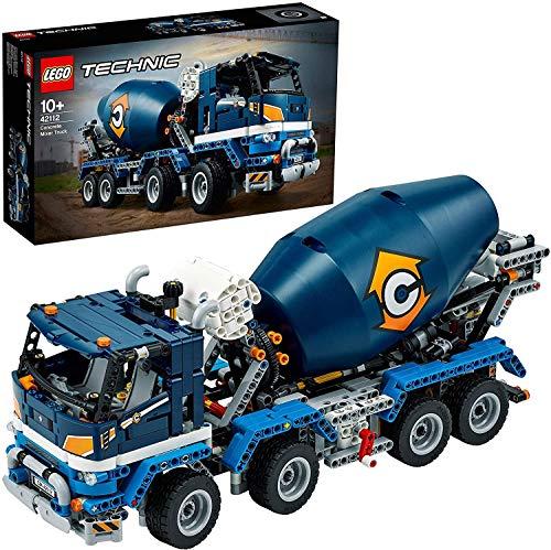 LEGO 42112 Technic Le camion bétonnière - Kit de construction
