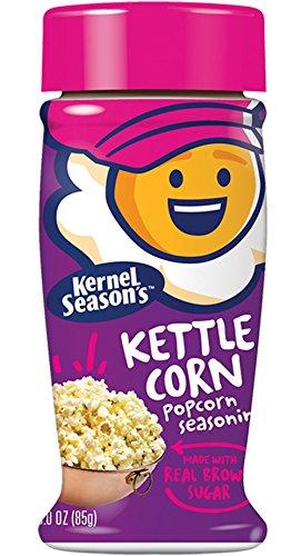Kernel Season's Popcorn Seasoning, Kettle Corn, 3 Ounce (Pack of 6)