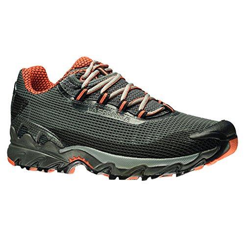LA SPORTIVA Men's Wildcat Trail Running Shoe, Carbon/Flame,...