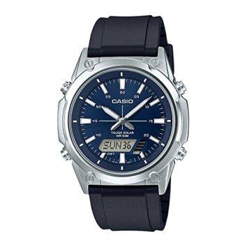 Casio AMWS820-2AV Silver Silicone Quartz Fashion Watch