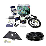MistKing Starter Misting System Version 4.0 with Mounting Wedge and Extra 25' Tubing   Terrarium Humidifier   Terrarium Mister   Reptile Fogger   Complete Starter Misting System