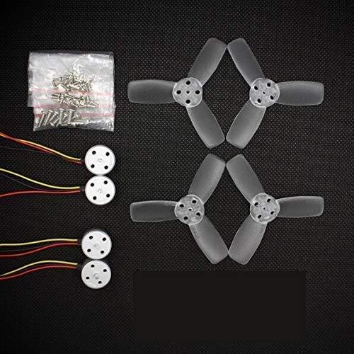 Accessori giocattolo- Accessori per droni RS1104 Motore brushless 5250KV + T2345 3 eliche a pale Eliche compatibili con EMAX 130 RC Brushless Racer Drone Q20400 Accessori per quadricotteri Facile da r