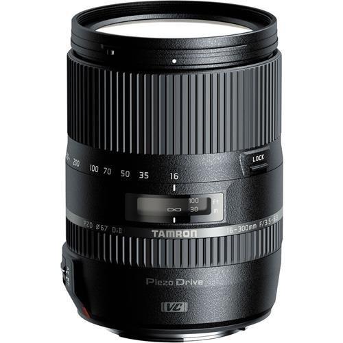 Tamron 16-300mm f/3.5-6.3 Di II PZD Macro Lens for...