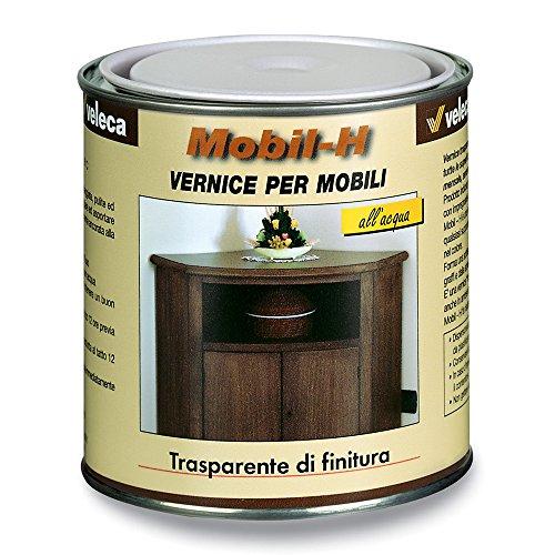 Veleca vernice all'acqua di finitura legno parquet lucido o satinato MOBIL-H (Lucido)
