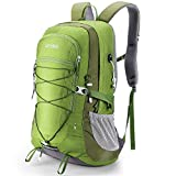 HOMIEE Zaino da Trekking 45 Litri, Resistente all'Acqua, Zaino da Escursione per Trekking Alpinismo, Multifunzione Zaino da Campeggio per Sport Viaggio,Donna e Uomo,Verde
