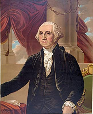 This Professionally reproduced Photograph of George Washington is printed on acid-free heavyweight Photo Paper using archival inks meant to last years. Easy to Frame Print: This George Washington photo is a great decor idea for any Home, Office, or C...