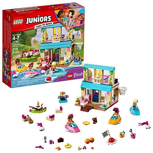 LEGO Juniors Stephanie's Lakeside House 10763 Building Kit (215 piece)