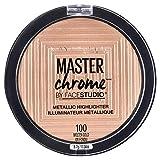 Maybelline New York Face Studio Master Chrome Metallic Highlighter, Molten Gold, 0.24 Ounce