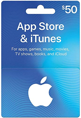 App Store & iTunes Gift Cards $50
