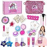 Jojoin Maquillage Enfant Jouet Filles, 20PCS Jouer Kit de Maquillage, Sac...