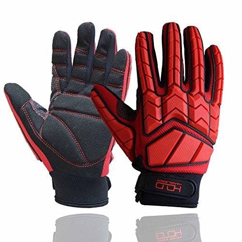 Anti Vibration Gloves, SBR Padding, TPR...