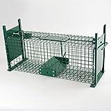 Piège Cage cas 50cm Vivants Piège Piège à rat Double Entrées cas des...