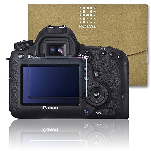 PROTAGE Canon EOS 6D 用 ガラスフィルム ガラス 製 フィルム 液晶保護フィルム 保護フィルム 液晶プロテクター キヤノン イオス 6D