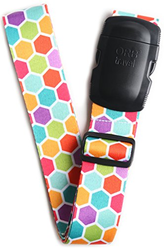 ORB Travel Premium Designer Luggage Strap...