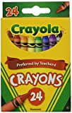 Wholesale: One Case of Crayola Crayons 24 Count (Case Contains 96 Boxes)