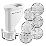 KitchenAid 5KSMPEXTA Gourmet Pasta Press with Six Plates (Optional Accessory for KitchenAid Stand...