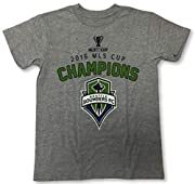 90% Cotton / 10% Polyester 2016 MLS Cup Champions Officially Licensed