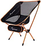 Sportneer Portable Lightweight Folding Camping Chair for Backpacking,...