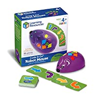SKILL DEVELOPMENT: Problem Solving, Critical Thinking, Analytical Thinking, Sequential Thought Process, Directional Concepts, Visual Tracking and 2-D to 3-D Correspondence INTRODUCE children to coding with this easy programmable Mouse; Mouse lights u...