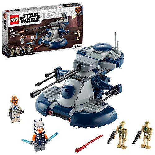 LEGO Star Wars TM Tanque Blindado de Asalto (AAT) Set de Juguete con Minifigura de Ahsoka Tano, Multicolor (75283)