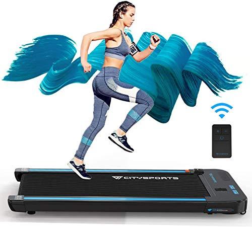 CITYSPORTS Tapis roulant con Motore Elettrico da 440W Altoparlanti Bluetooth integrati Display LCD a velocit Regolabile per la casa e L'Ufficio