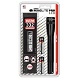 Lampe torche compacte Maglite LED SP2P 2 piles AA 16.7 cm - Noir