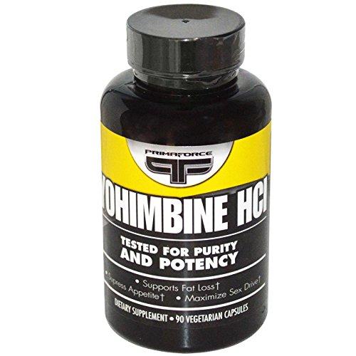 Primaforce Yohimbine HCl - 90 Gelatin Capsules
