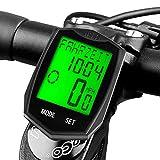 DINOKA Ordinateur de vélo, Ordinateur de vélo sans fil étanche Compteur...