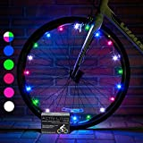 Activ Life LED Wheel Lights (1 Tire, Multicolor) Unique Gifts for Men Who Have Everything & Secret Easter Bunny for Women - Wheelchair & Baby Stroller Accessory