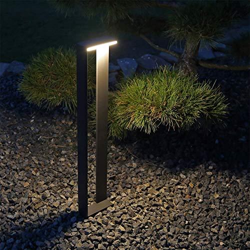 Design Außenstandleuchte anthrazit LED Designer Pollerleuchte CLGarden ASL5 Stehleuchte aussen Wegeleuchte Garten