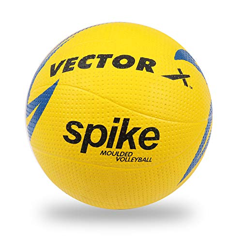 Vector X Spike Rubber Vollyball (Color : Multicolour , Size : 4 )
