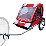 Allen Sports Deluxe Steel 2-Child Bicycle Trailer, Model AST2