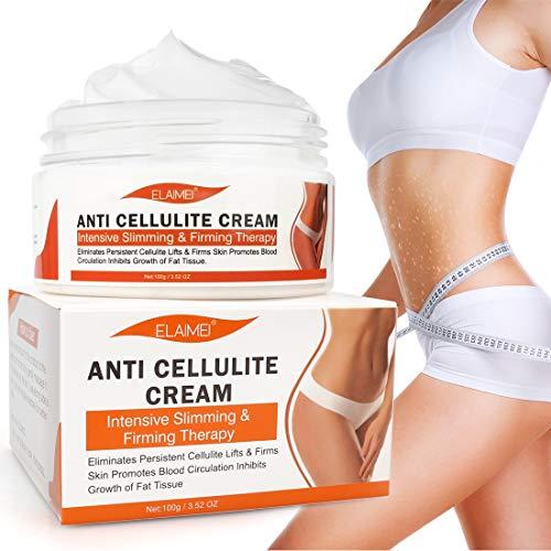 Anti Cellulite Cream, Slimming Cream for Tummy, Abdomen, Belly and Waist - Firming Cream - Hot Cream for Weight Loss, Body Fat Burning Massage Gel - 100g 1