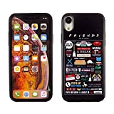 iPhone XR CASEMPIRE Friends TPU Case Shock Proof Never Fade Slim Fit Cover for iPhone XR Friends TV Show