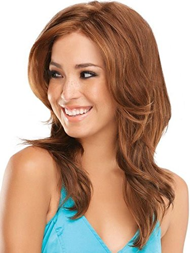 Adriana - Smart Lace Front Hand Tied Monofilament Wig by Jon Renau, 14/26S10 7