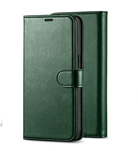 ClickCase Vintage Series, Faux Leather Wallet Flip...