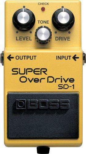 BOSS Super OverDrive  SD-1 【徹底紹介】Anchang(SEX MACHINEGUNS)の機材・エフェクターボード・ピックを解析!ギターを支えるライブ機材の数々を紹介!【金額一覧】