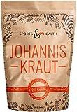 Johanniskraut Kapseln Hochdosiert - 210 Kapseln mit 400mg Johanniskraut - Ohne Allergiestoffe - Hochdosiert