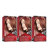 REVLON Colorsilk - Tinte permanente para el cabello con tecnología de gel 3D y...