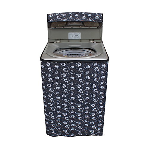 KingMatters Washing Machine Cover for Fully-Automatic Top Loading LG T7569NDDLH 6.5 kg KM16