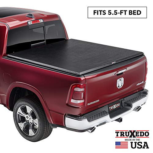 TruXedo TruXport Soft Roll Up Truck Bed Tonneau Cover | 273901 | fits 14-20 Toyota Tundra w/Track System 5'6' bed