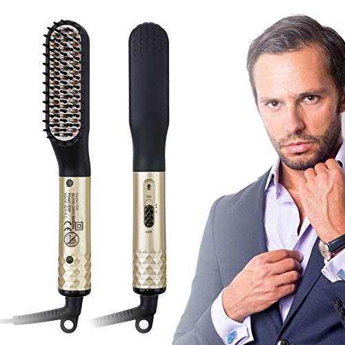 14. CHARMINER Beard Straightener for Men